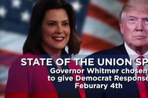 Gov. Gretchen Whitmer to deliver Democratic response to President Trump's SOTU