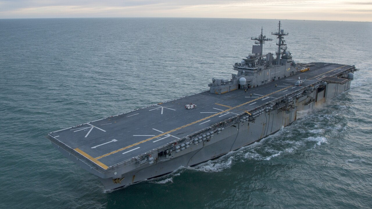After brief Japan deployment, USS Wasp returning to Norfolk in2019