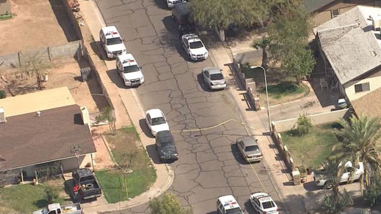PD: Officer-involved shooting in west PHX