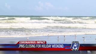 Padre Island National Seashore temporarily closes