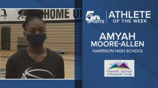 KOAA Athlete of the week: Harrison's Amyah Moore-Allen
