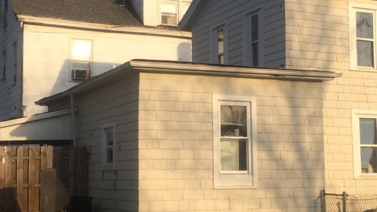 Toddler falls from roof of Hamilton home