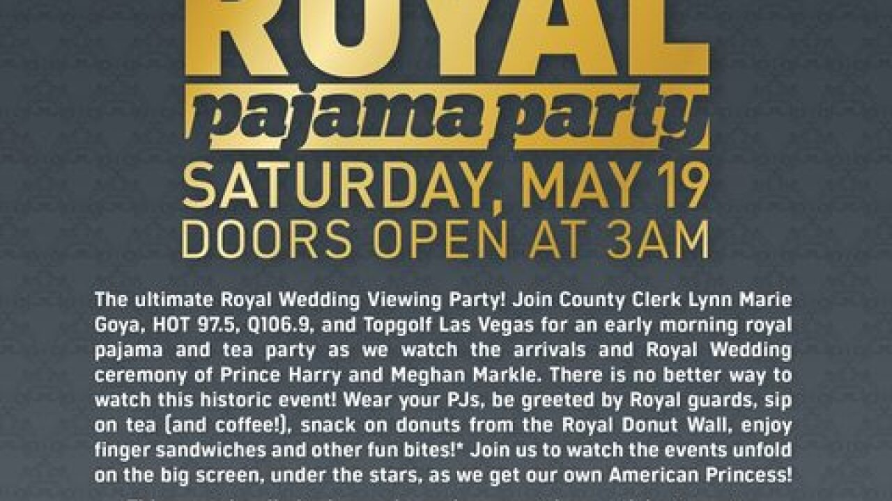 Royal Wedding festivities in Las Vegas