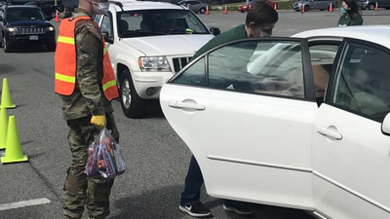 Virginia National Guard COVID-19 response