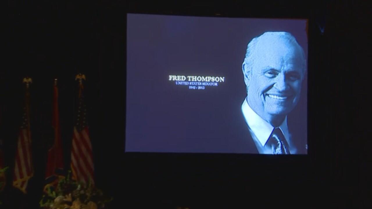 PHOTOS: Fred Thompson, 1942-2015