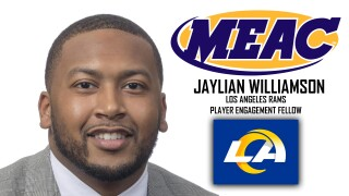 Jaylian Williamson (Courtesy: MEAC)