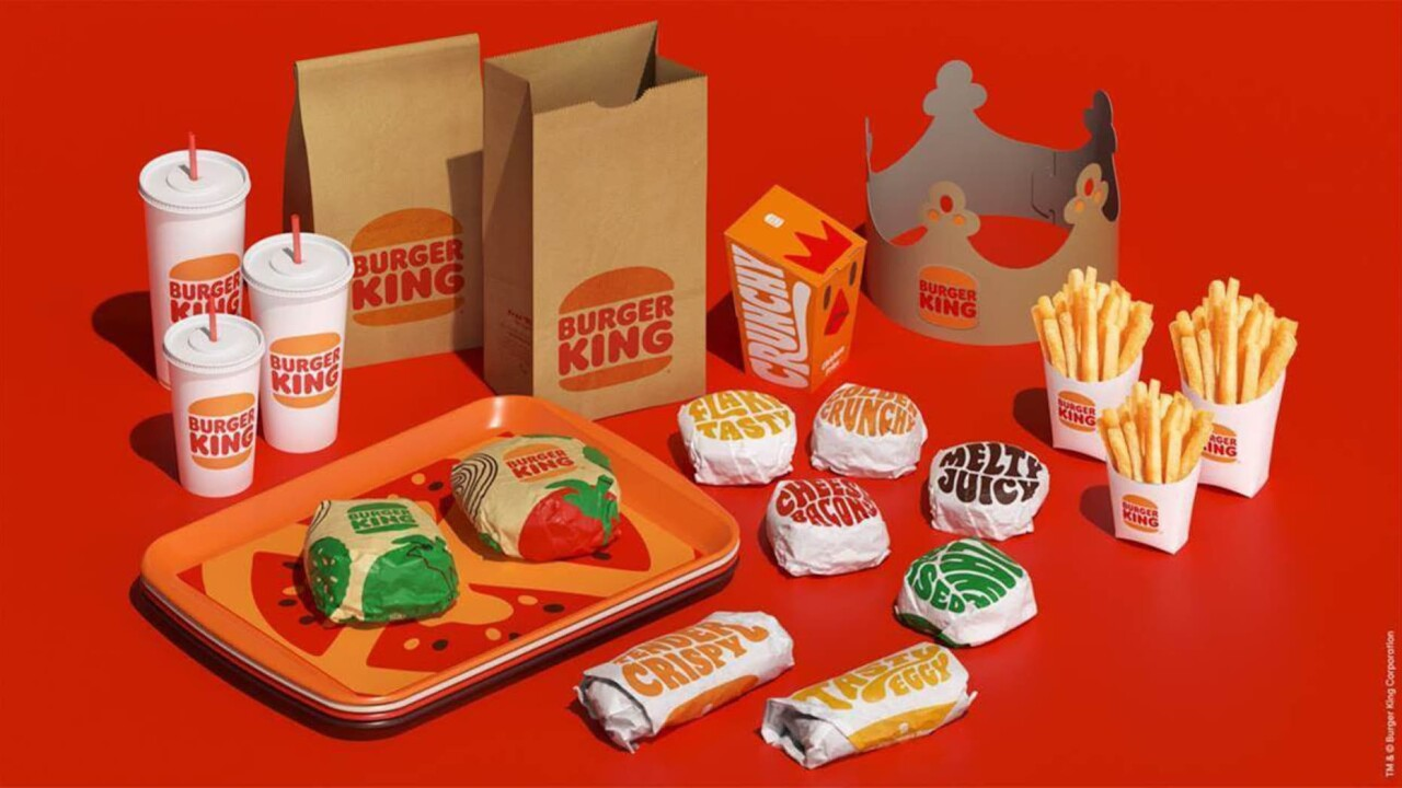 New Burger King Logos