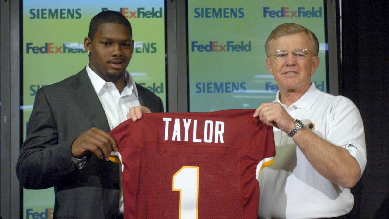 Sean Taylor, Joe Gibbs