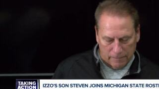 Tom Izzo explains why his son Steven has a spot on his Michigan State roster