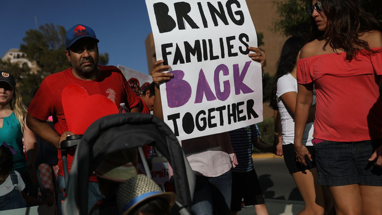 Group to protest Trump's immigration policies