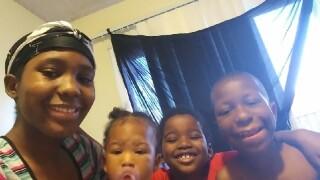 Porschia's kids