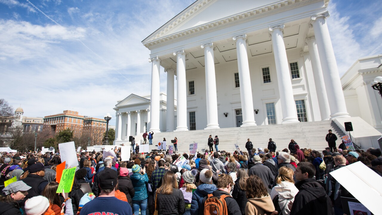 Richmond students, community rally in the thousands for guncontrol