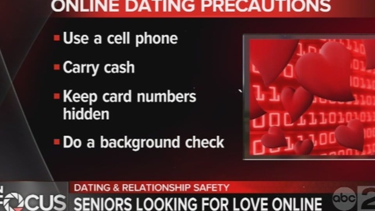 Advice for 60+ crowd considering online dating