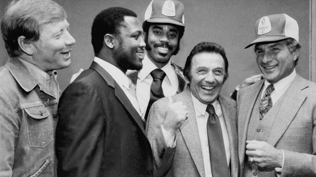 Norm Crosby, Mickey Mantle, Joe Frazier, Walt Frazier, Nick Buoniconti