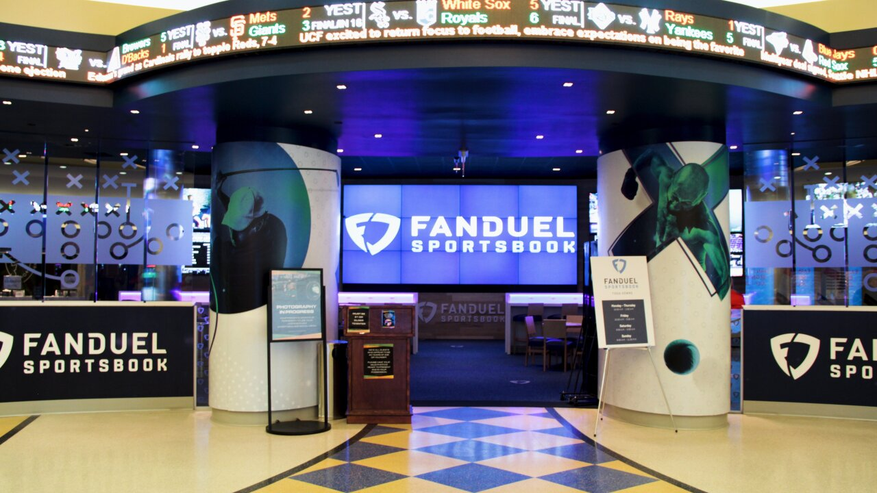 FanDuel Group and Tioga Downs Make Sports Betting History in New York
