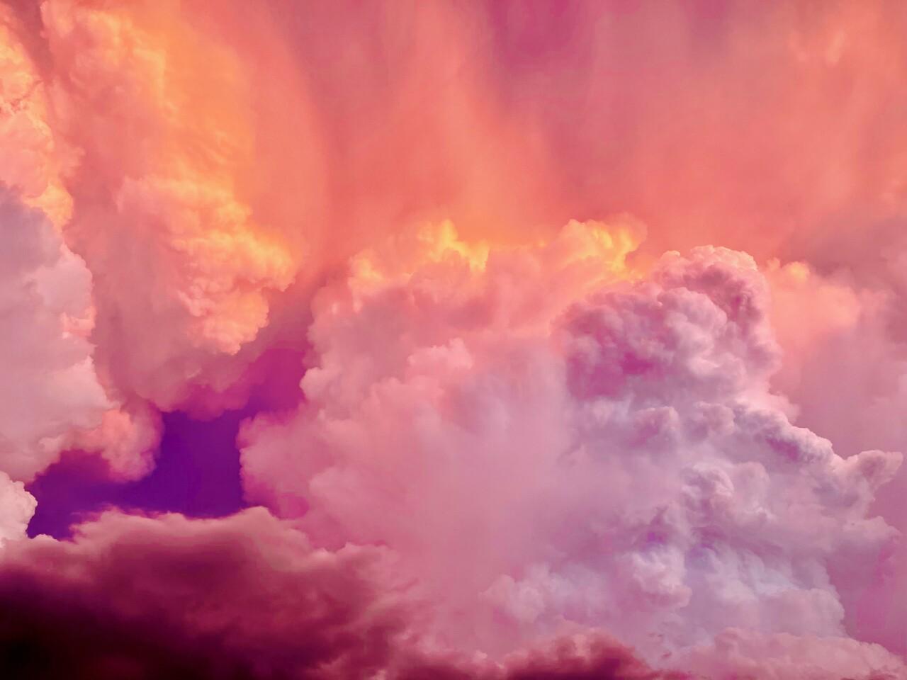 Sunday Evening Clouds