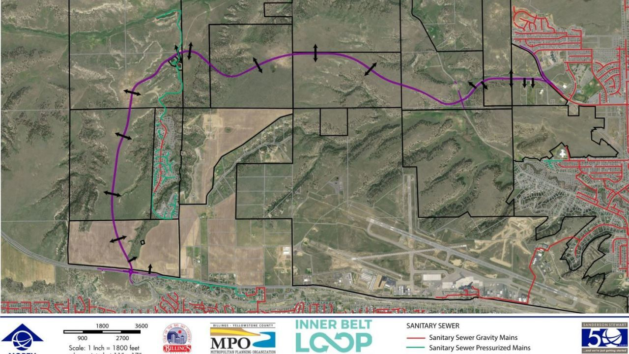 $11M grant awarded to Billings for Inner Belt Loop project