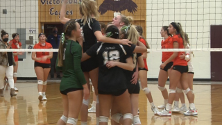 Billings Central volleyball