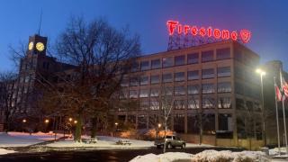 Firestone sign Akron
