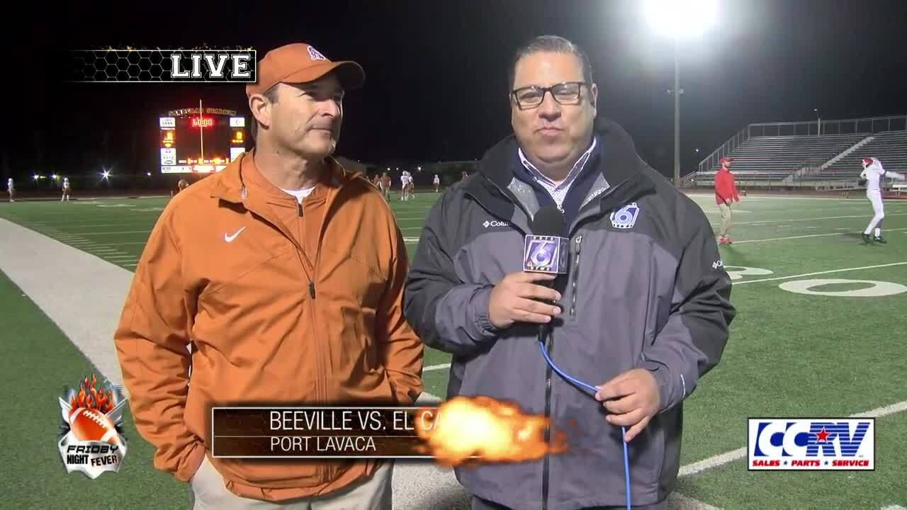 Beeville coach Chris Soza