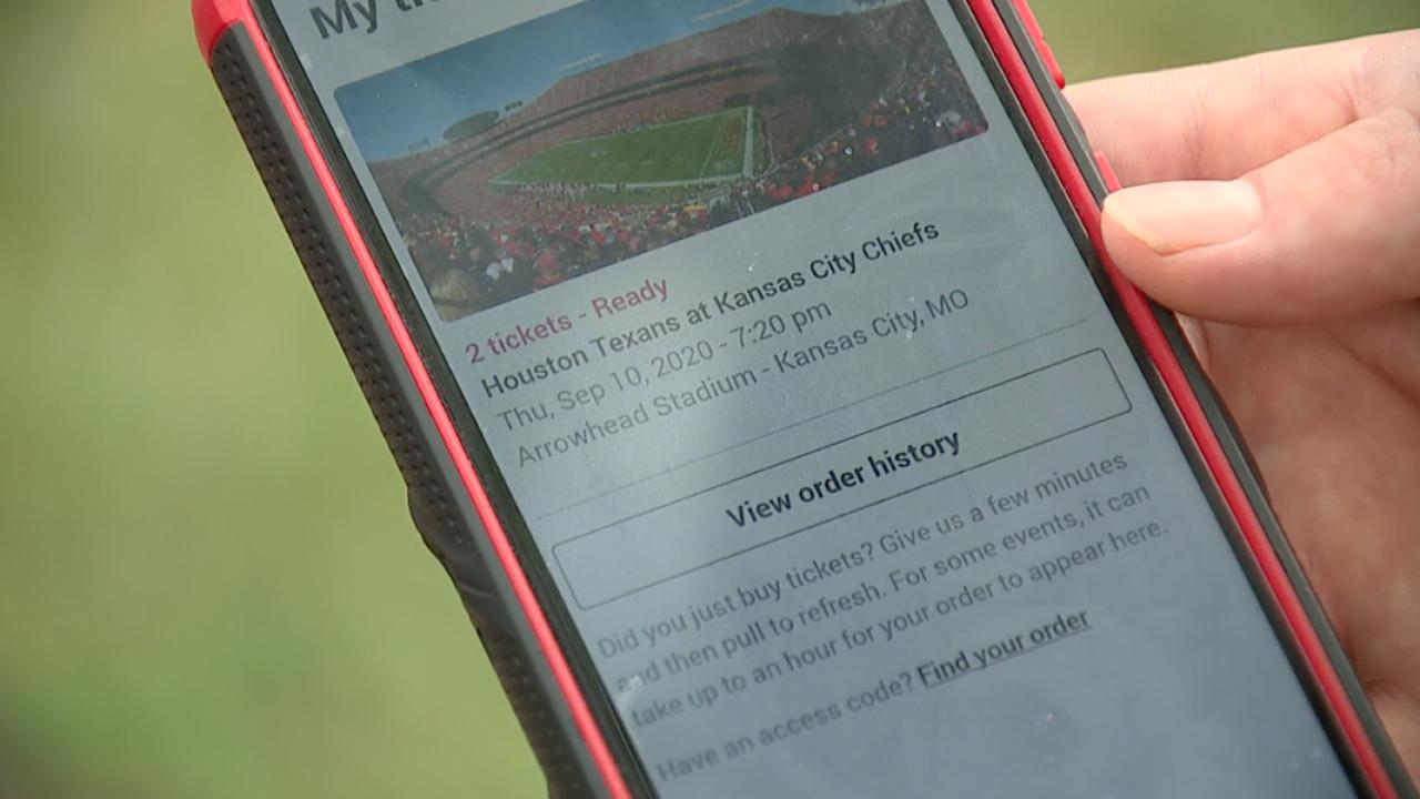 StubHub ticket policy frustrates Chiefs fans