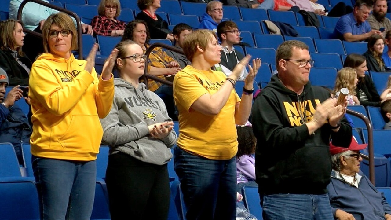 NKU fans travelled to Tulsa to watch The Norse in the NCAA Tournament