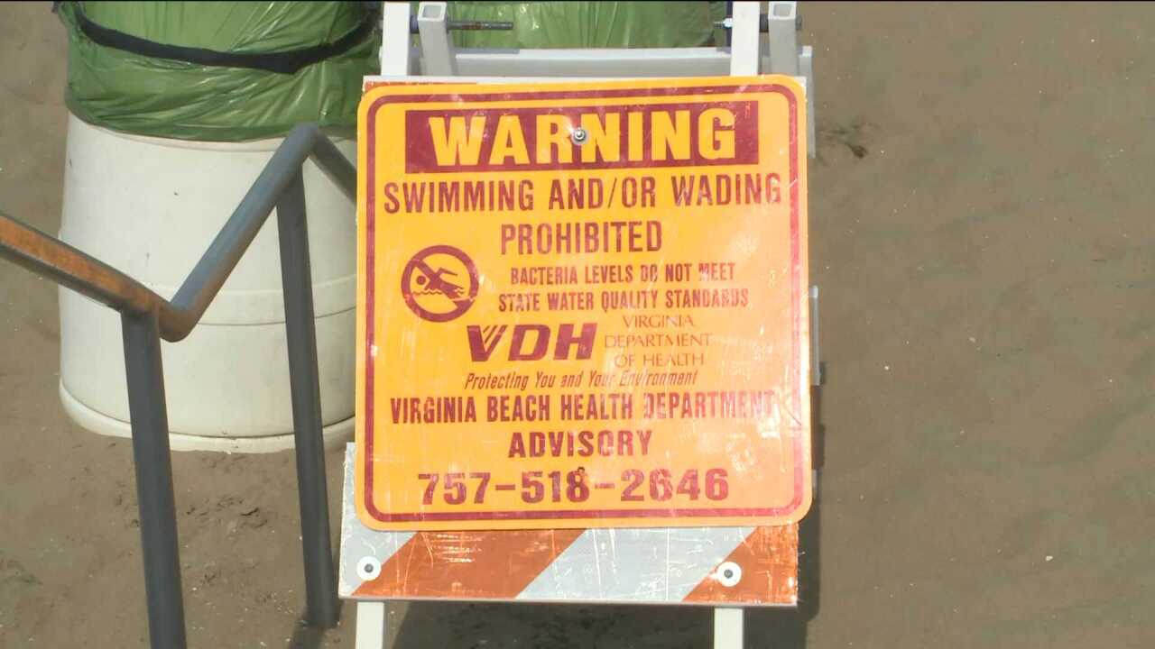 Large stretch of Virginia Beach oceanfront remains offlimits