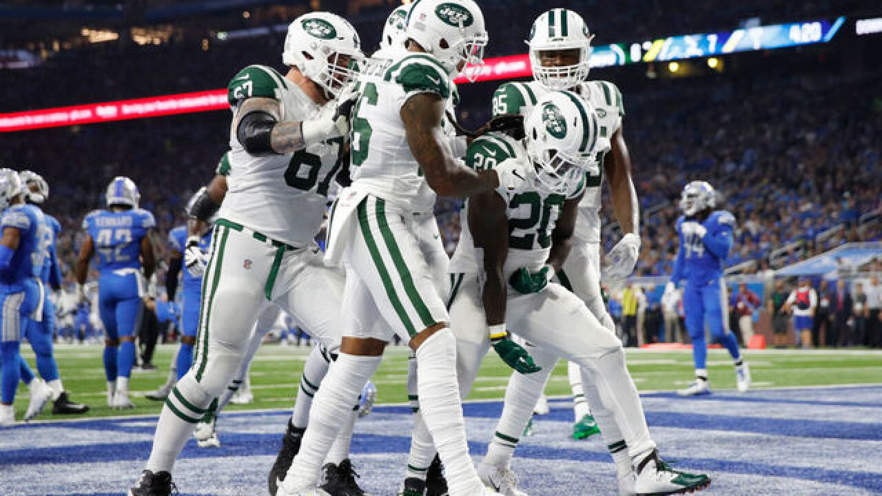 New York Jets blow out Detroit Lions on Monday Night Football