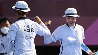 South Korea wins first Olympic mixed team archery gold