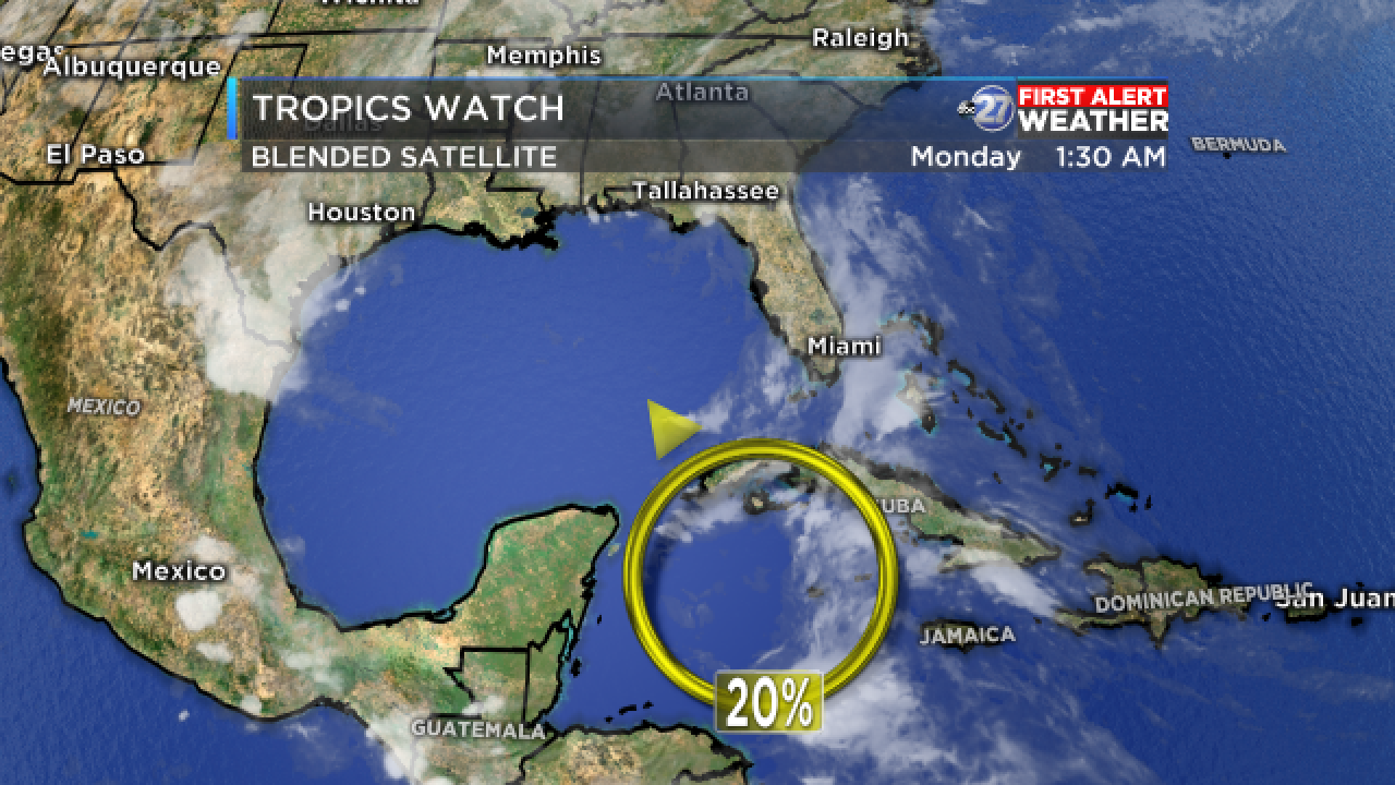 Weather Disturbance Shows Signs of Slow Tropical Development