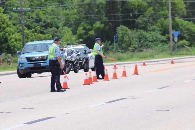 Photos: Car vs. Motorcycle crash on Pondella Road