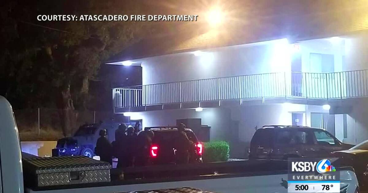 Atascadero police arrest man suspected in high-speed chase