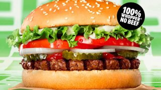 Is Burger King's Rebel Whopper actually vegetarian?