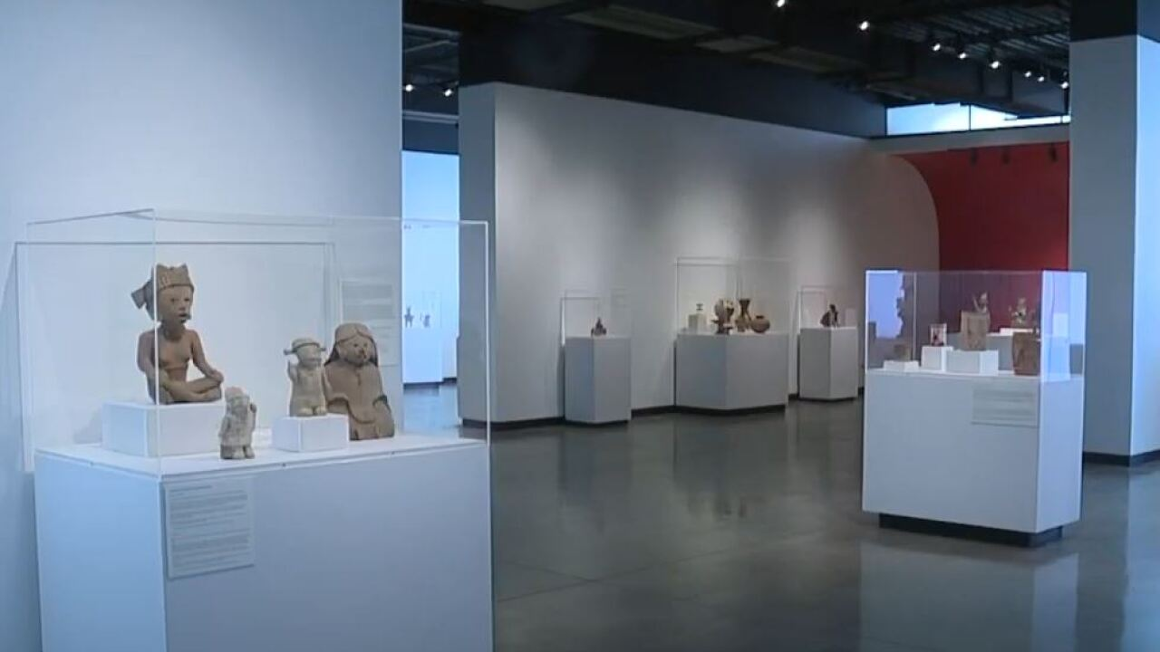 Tucson Museum of Art is displaying an exhibit -- Kasser Family Wing -- dedicated to art from ancient Latin America, all the way up to art being made today.