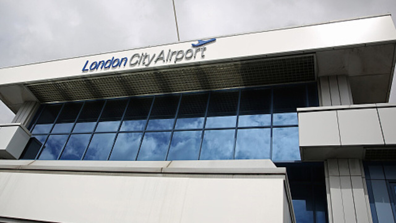 London City Airport declared safe after chemical situation