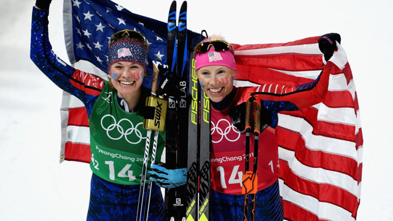 OLYMPICS: US women win 1st Olympic cross-country medal