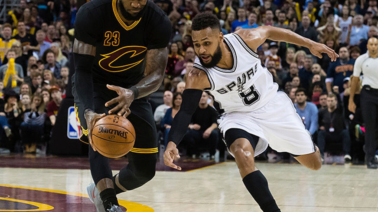 Cavaliers ban fan who aimed racial taunts at Spurs' Mills