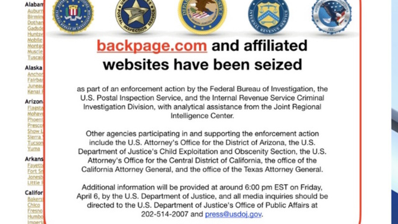 Backpage founders charged in alleged scheme