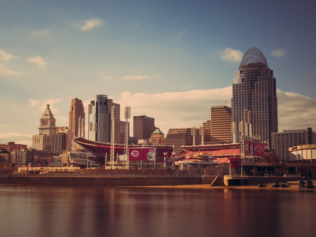 Cincygram: Great American Ball Park begins to stir