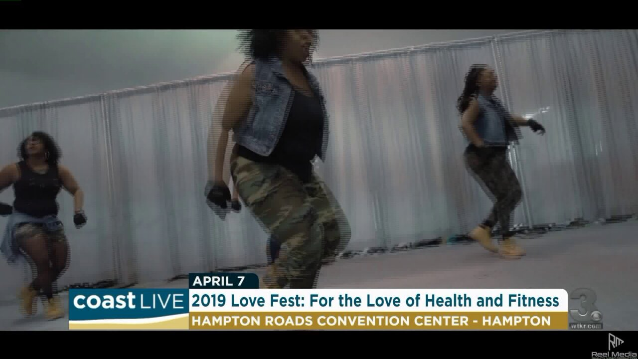 Getting prepared for the 2019 Love Fest with some Zumba moves on CoastLive