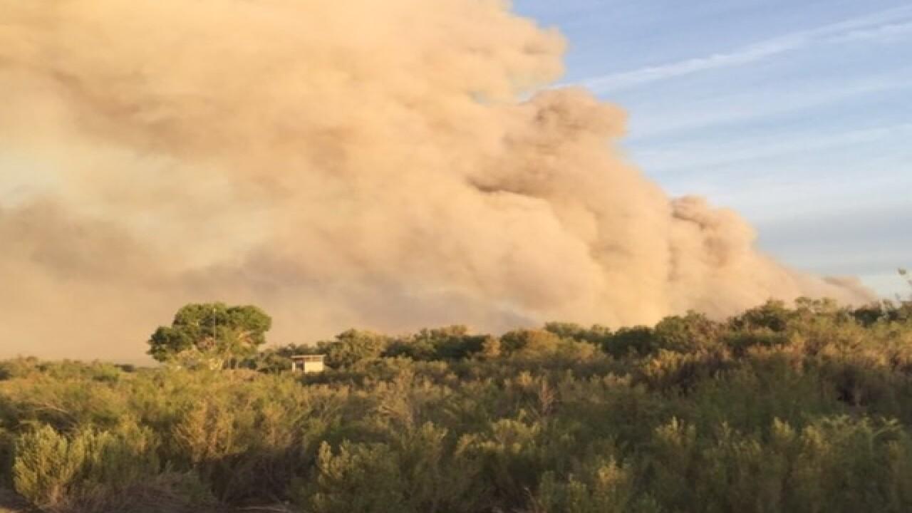 Arizona fire burns more than 1,400 acres