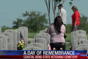 Memorial Day Coastal Bend Veterans Cemetary 0525