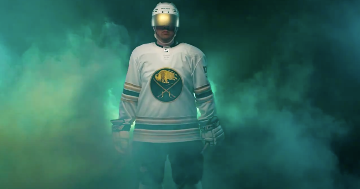 Sabres 'go gold,' unveil 50th anniversary jersey