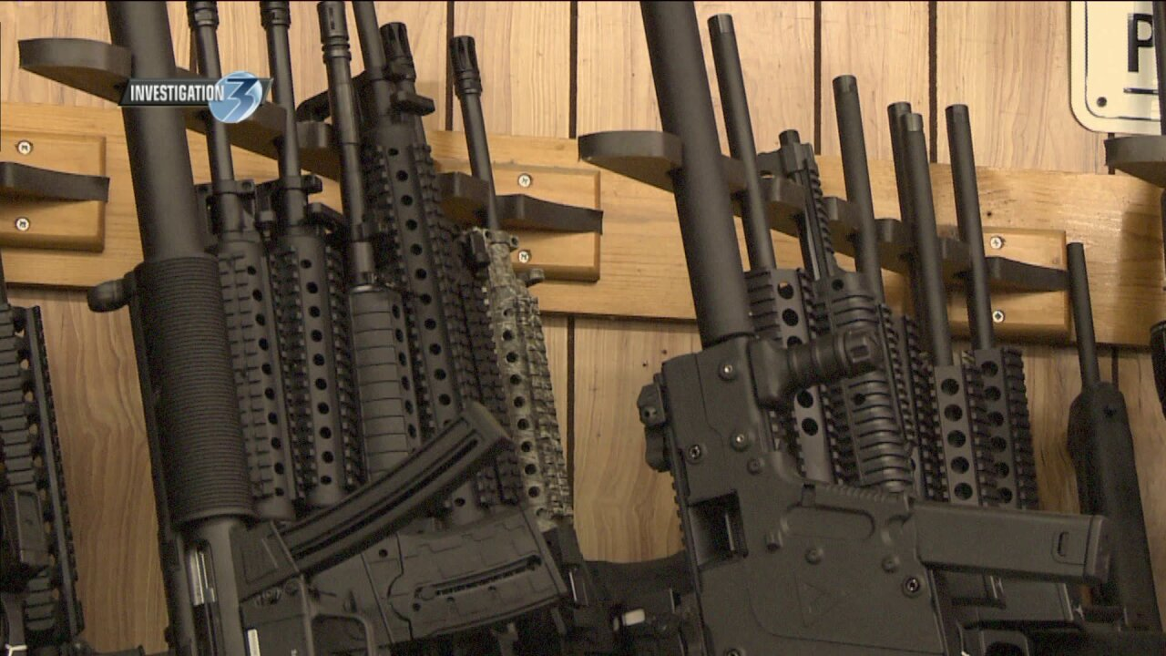 Military surplus weapons sent to local college campuses