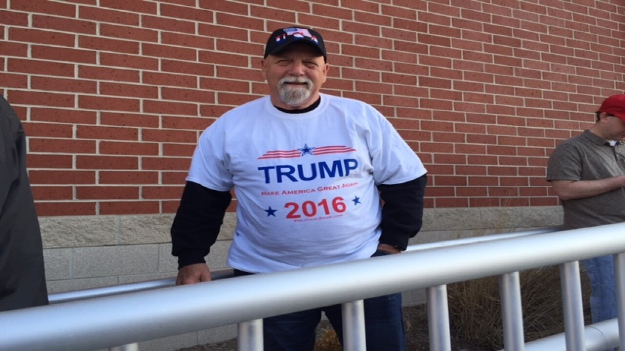 PHOTOS: The faces of Donald Trump supporters