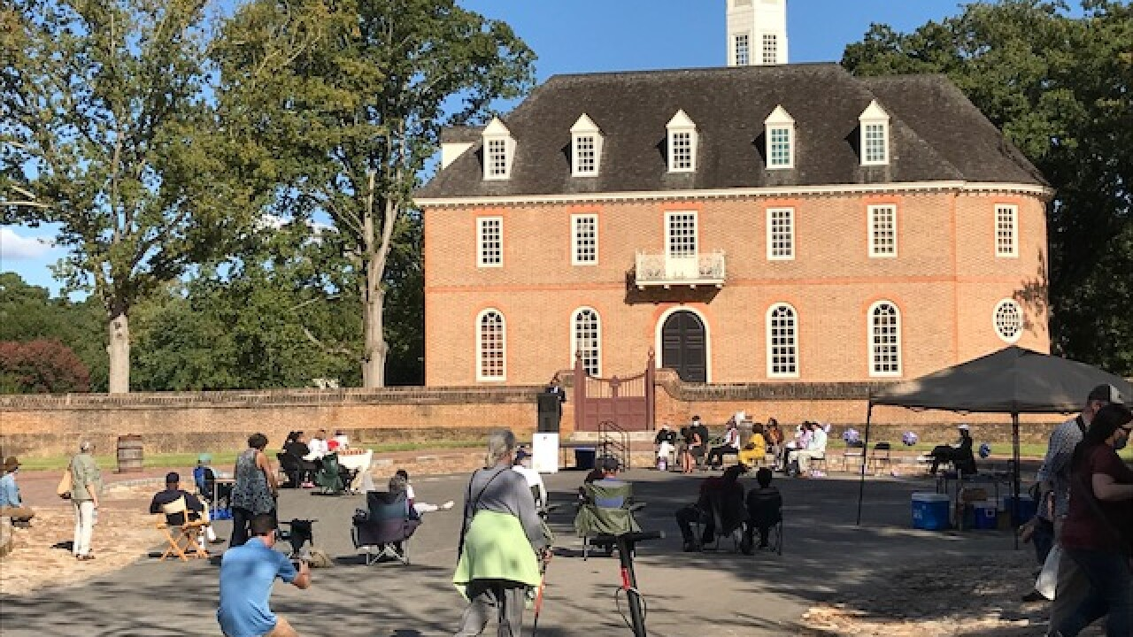 Williamsburg activists call for racial healing, reparations