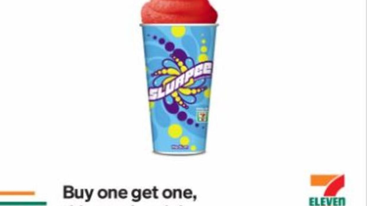 Get BOGO Slurpees this week for back to school