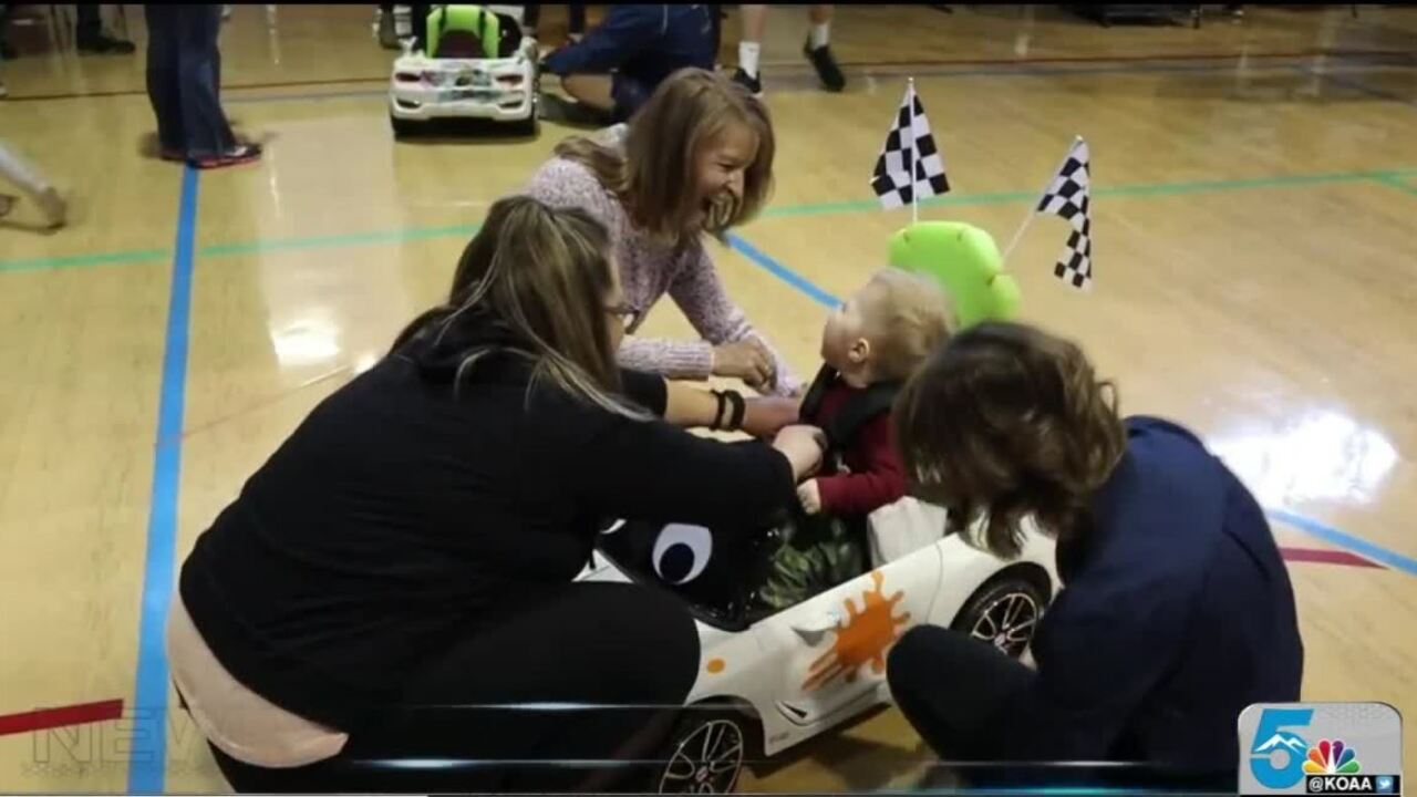 Adaptive Cars for toddlers event at AFA