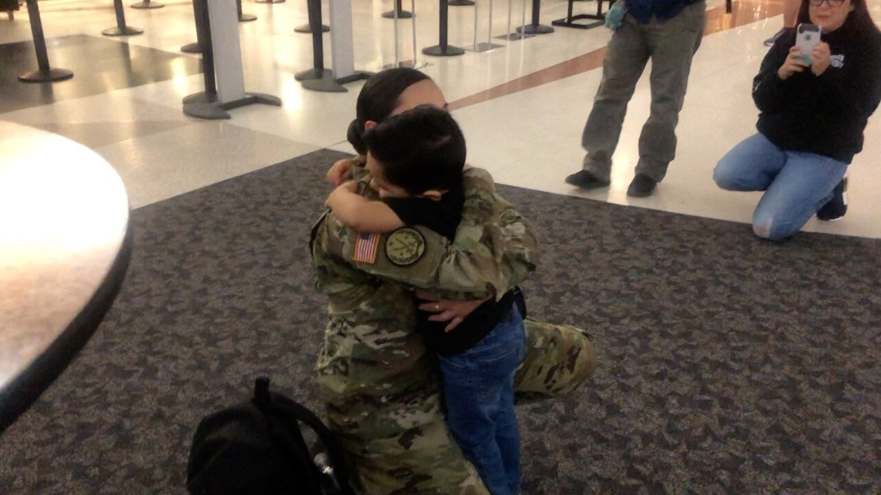 Sgt. Elaine Moreno back home after deployment to Iraq