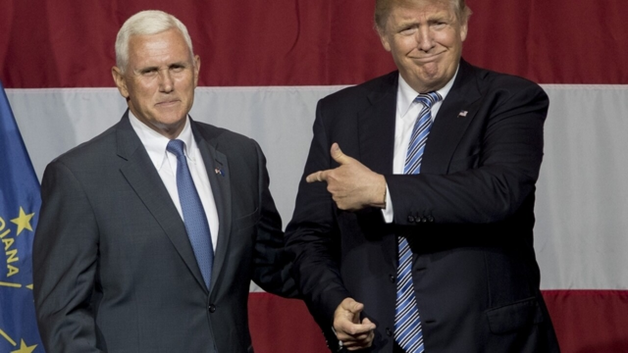 Trump campaign credits Pence for record fundraising day